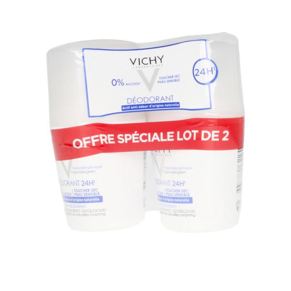 Roll-On Deodorant 24h Vichy 35779 (40 ml x 2)
