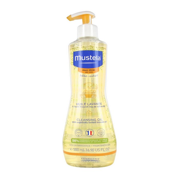 Bath Gel Bébé Mustela (500 ml)