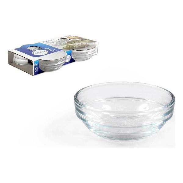 Bowl Duralex Stackable Circular (4 uds) (36 ml)