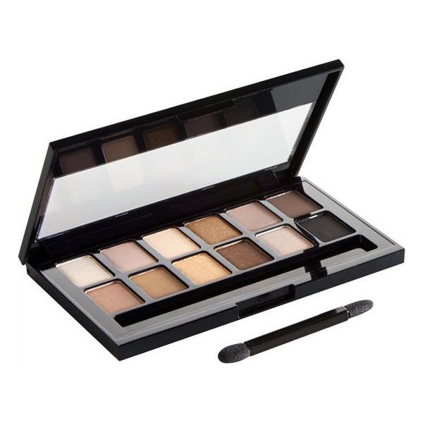 Paleta de Sombras de Ojos The Nudes Maybelline (9,6 g)