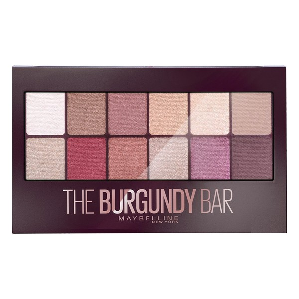 Paleta de Sombras de Ojos The Burgundy Bar Maybelline (9,6 g)