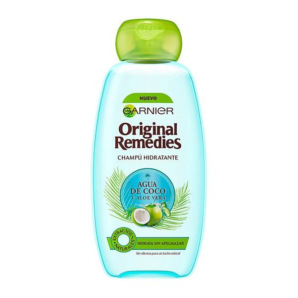 Champú Hidratante Original Remedies Agua Coco Y Aloe Garnier (300 ml)