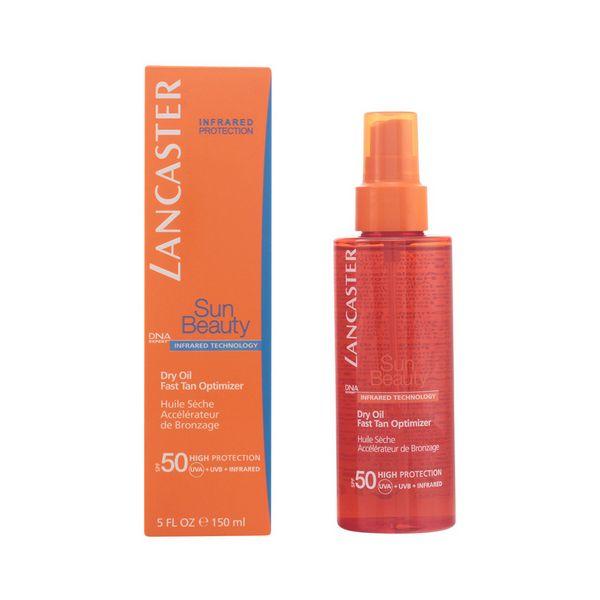 Tanning Oil Sun Beauty Dry Touch Lancaster SPF 50 (150 ml)
