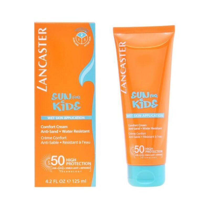 Krema za Sončenje Sun Kids Wet Skin Lancaster SPF 50 (125 ml)