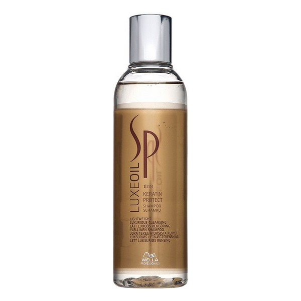 Champú de Queratina Sp Luxe Oil System Professional (200 ml)
