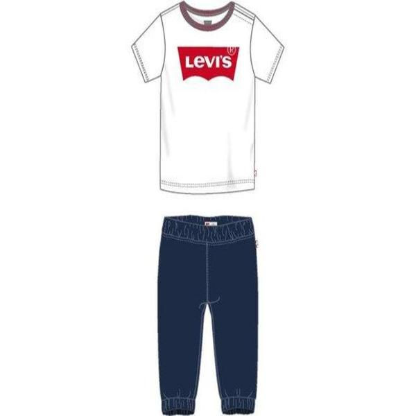 Baby's Tracksuit TWILL JOGGER Levi's 6EA924-001  White