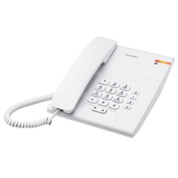 Landline Telephone Alcatel T180 Versatis White