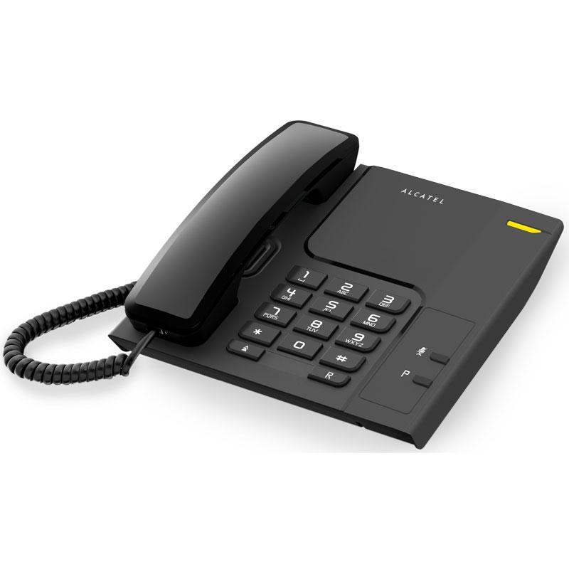 Landline Telephone Alcatel TEMPORIS T-26 LED Black