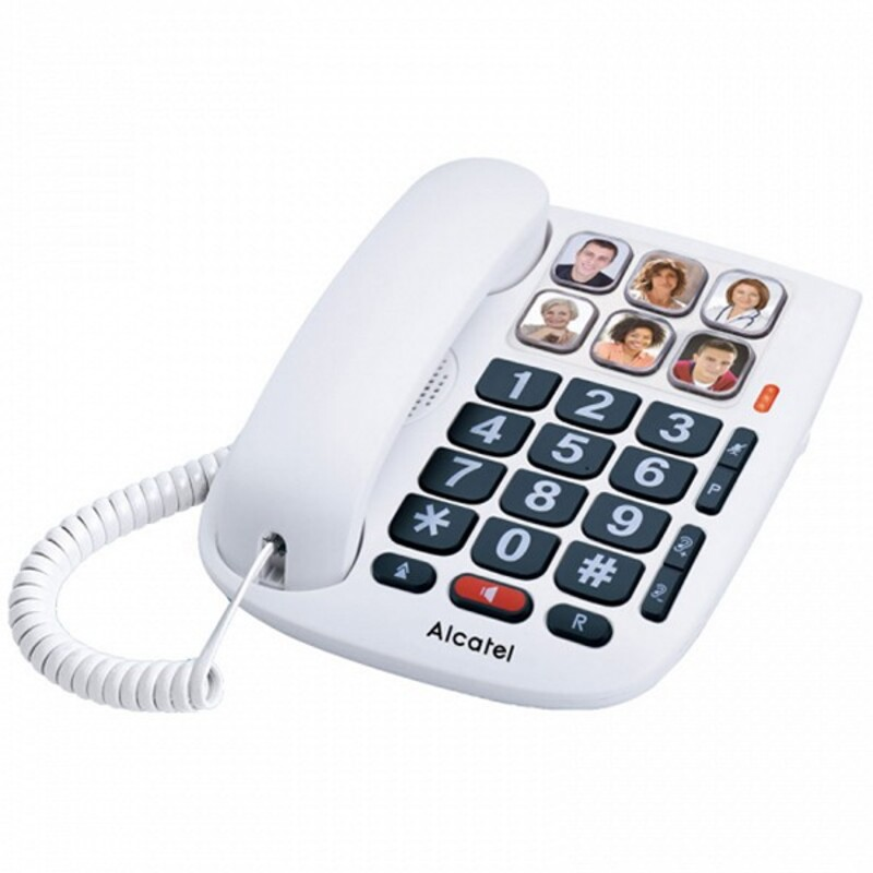 Landline for the Elderly Alcatel TMAX 10 LED White