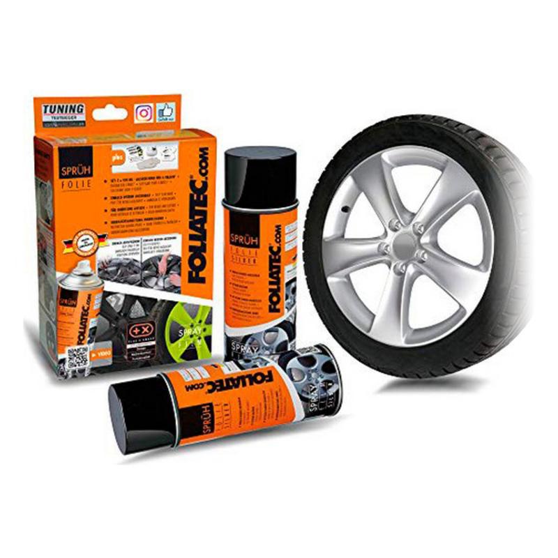 Liquid Rubber for Cars Foliatec     Silver 400 ml (2 pcs)