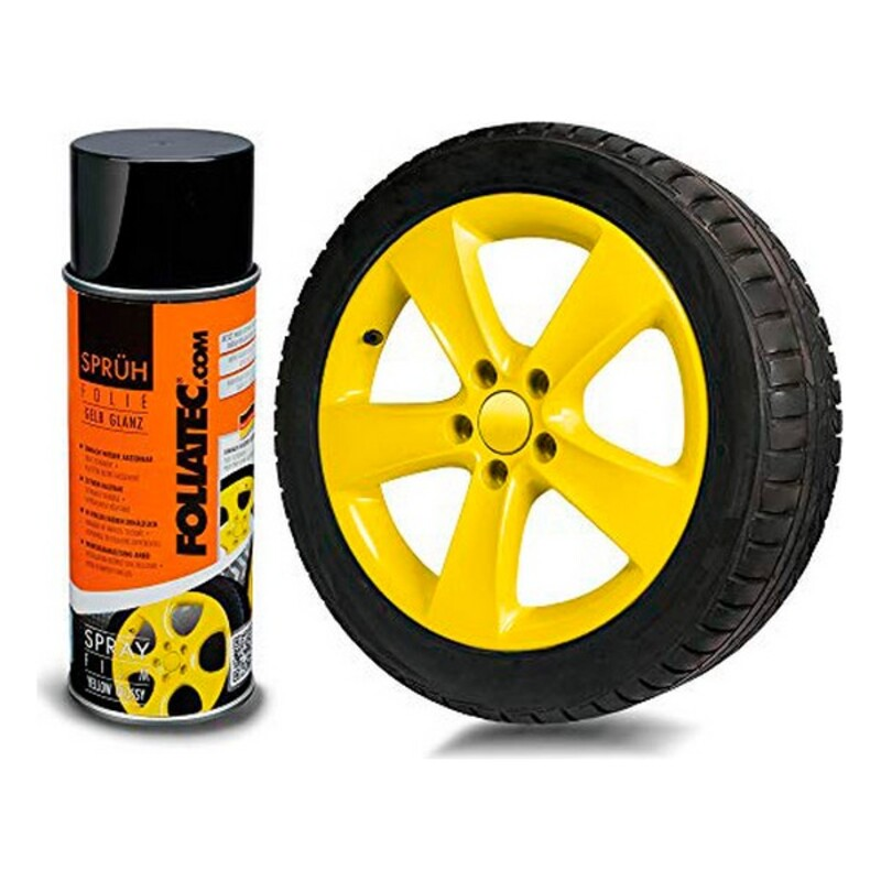 Liquid Rubber for Cars Foliatec     Yellow 400 ml