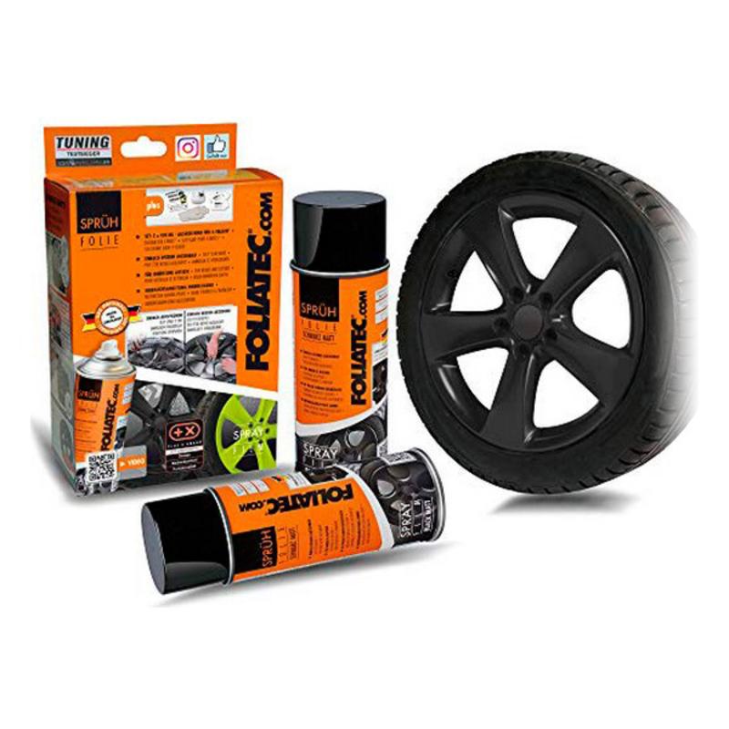 Liquid Rubber for Cars Foliatec     Matte back 400 ml (2 pcs)