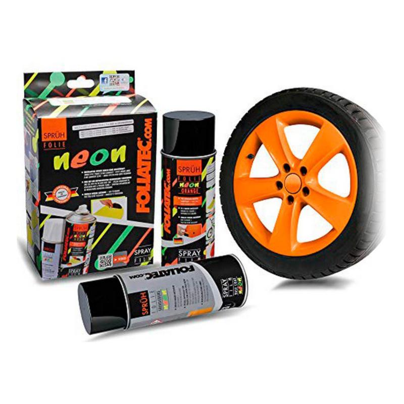 Liquid Rubber for Cars Foliatec     Orange 400 ml (2 pcs)