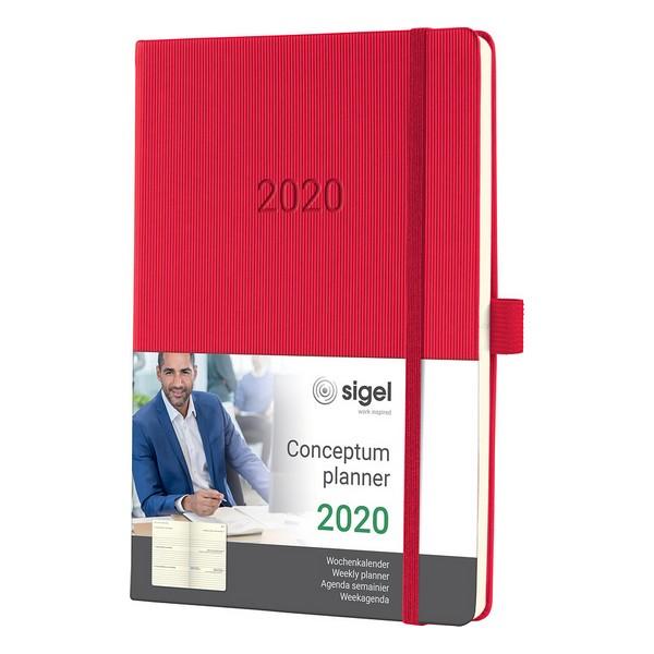 Agenda 2020 Conceptum C2064 Red (Refurbished A+)