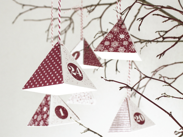 Advent Calendar Baier & Schneider Red (Refurbished A+)