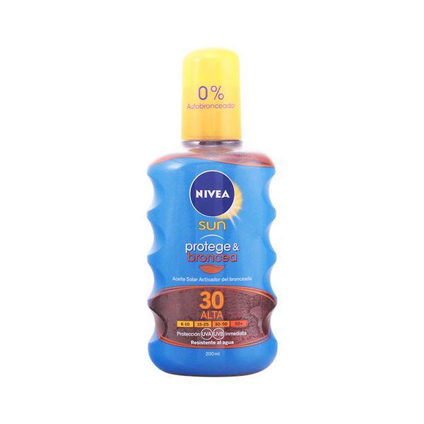 Tanning Oil Spf 30 Nivea 1256