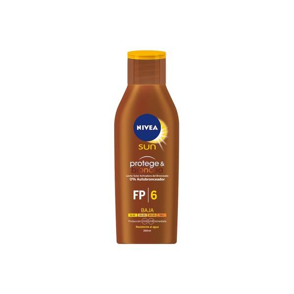 Mleko za sončenje Protege & Broncea Nivea (200 ml)
