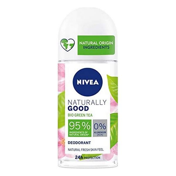 Roll-On Deodorant Naturally Good Nivea Green Tea (50 ml)