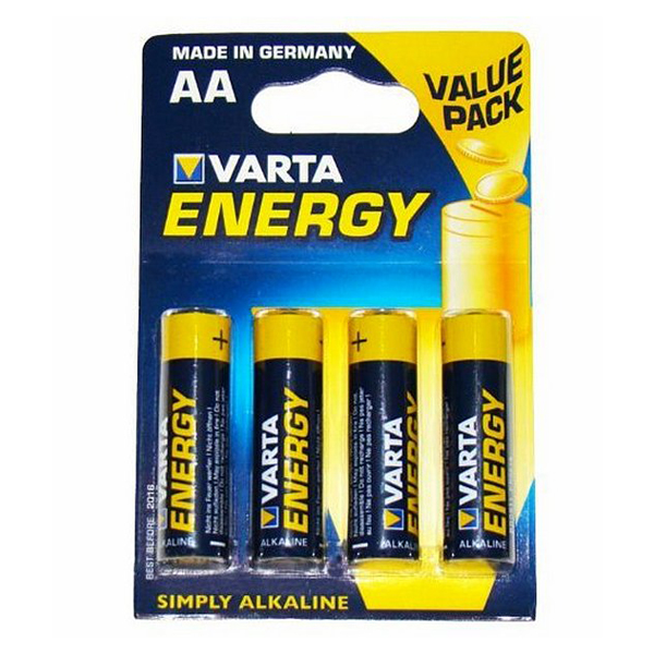 Alkaline Batteries Varta LR06 AA (4 uds)