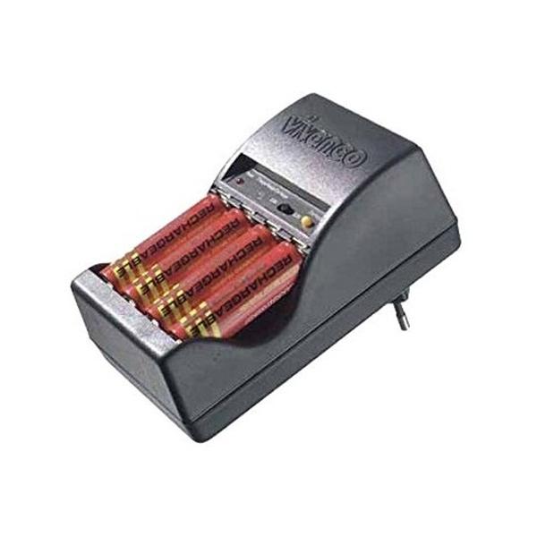 Wall Charger Vivanco Dual ACS 30 Batteries x 4