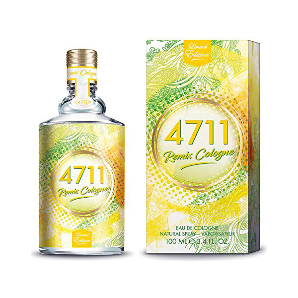 Perfume Unisex Remix Cologne Lemon 4711 EDC (100 ml)