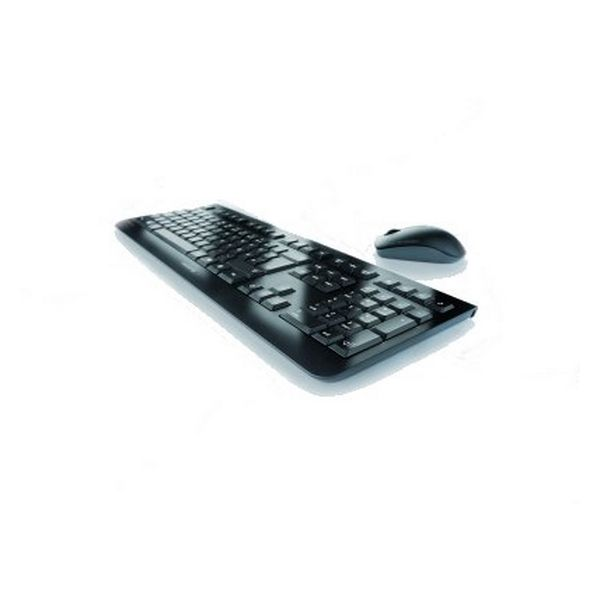 Keyboard and Wireless Mouse Cherry DW 3000 Black