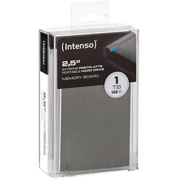 """Disco Duro Externo INTENSO 6028660 1TB 2.5"""" USB 3.0 (1)"""