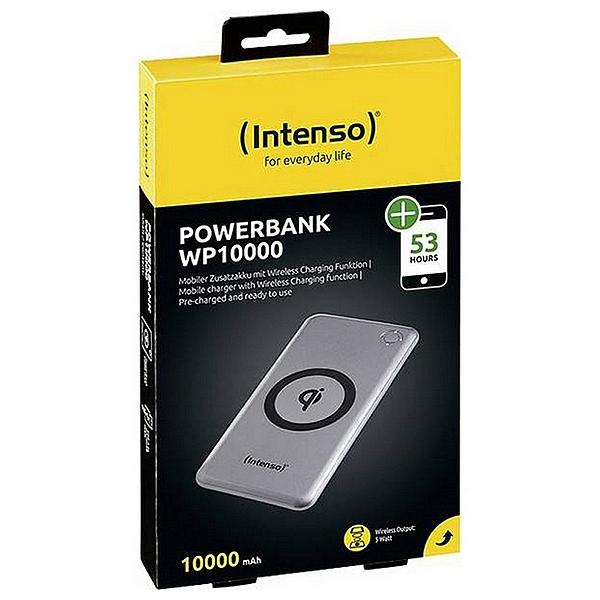 Wireless Power Bank INTENSO 7342531 10000 mAh Silver Computers Electronics
