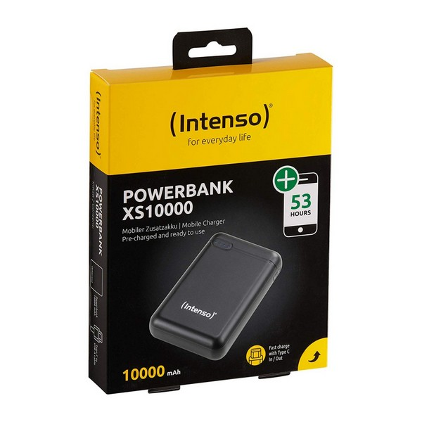Power Bank INTENSO 7313530 10000 mAh Negro