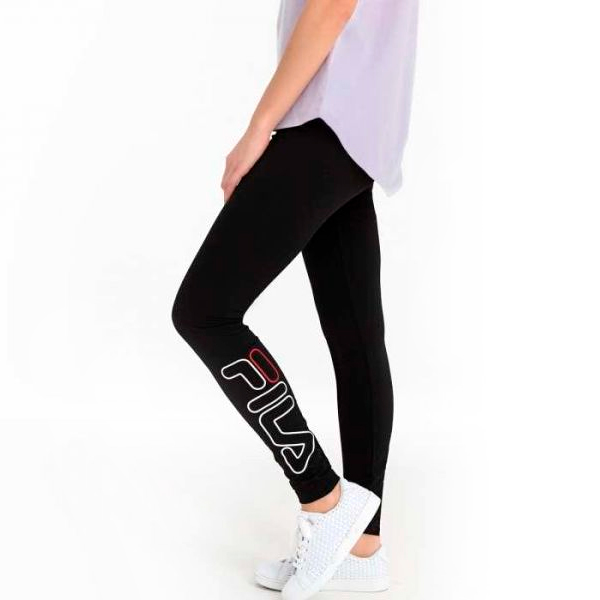 Sport leggings for Women Fila 687124 Black