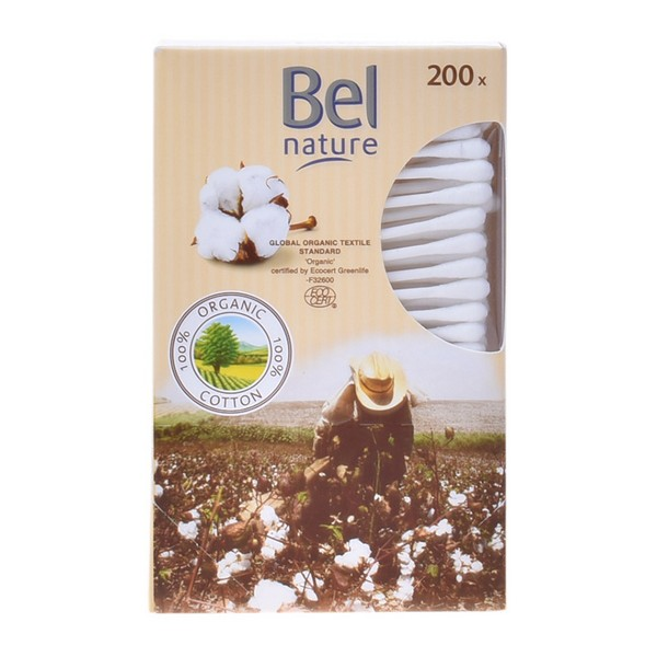 Cotton Buds Nature Bel (200 uds)