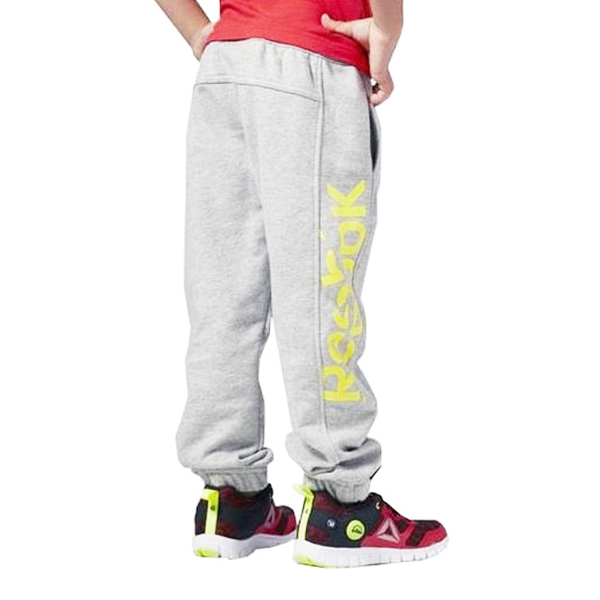 Children's Sports Shorts Reebok B ES BL Pant Grey Yellow