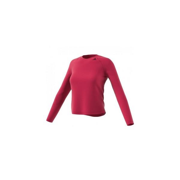 Women's long sleeve T-shirt Adidas D2M LONGSLEEVE