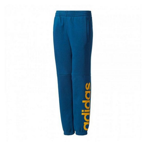 Children's Tracksuit Bottoms Adidas YB LIN