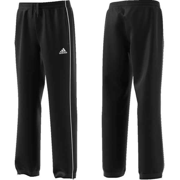 Children's Tracksuit Bottoms Adidas Core 18 Youth Black