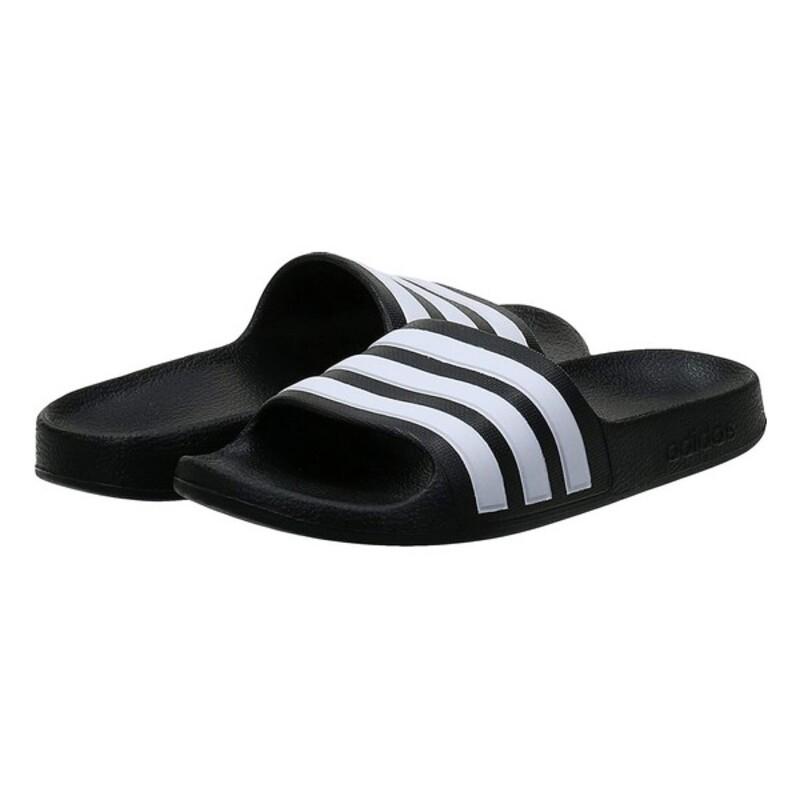 Flip Flops for Children Adidas ADILETTE AQUA F35556 Black/White
