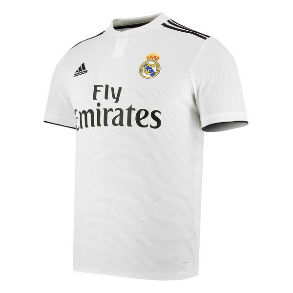 Men's Short-sleeved Football Shirt Adidas Real Madrid White 18/19 (1ª)