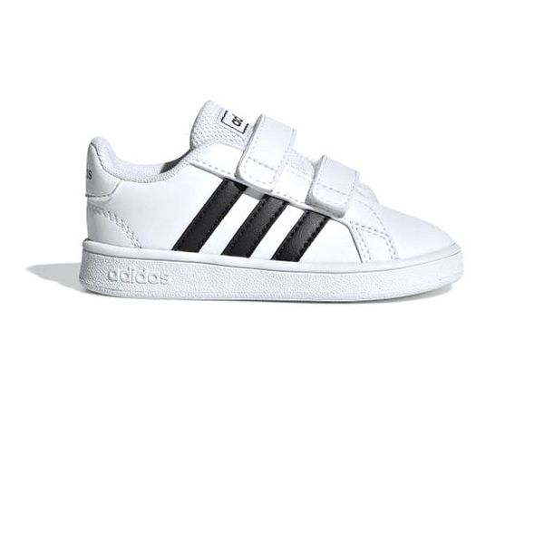 Baby's Sports Shoes Adidas Grand Court I White Black