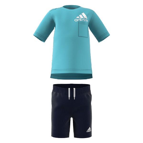 Children's Tracksuit Adidas I BOS SUM GM8943 Blue