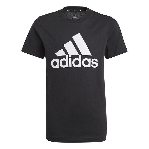 Child's Short Sleeve T-Shirt Adidas B BL T GN3999 Black