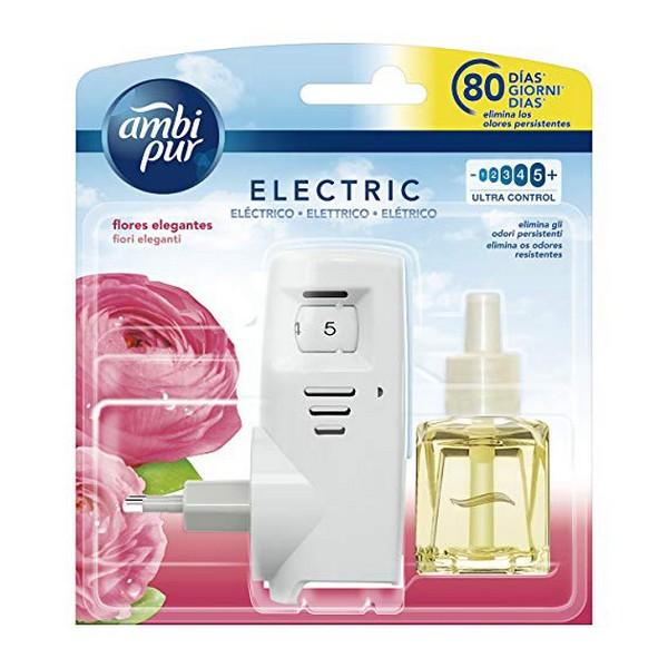 Electric Air Freshener + Refill Elegante Ambi Pur (21,5 ml)