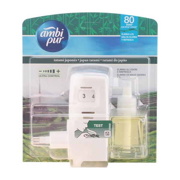 Electric Air Freshener + Refill Tatami Ambi Pur (21,5 ml)