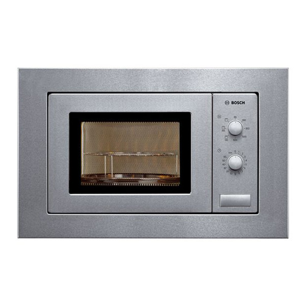 Microondas Integrable con Grill BOSCH HMT72G650 18 L 800W Acero inoxidable