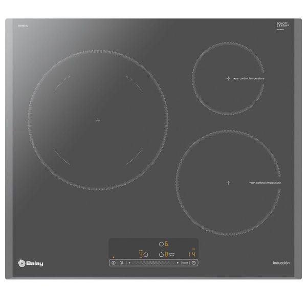 Placa de Inducción Balay 3EB965AU 60 cm (3 Zonas de cocción)