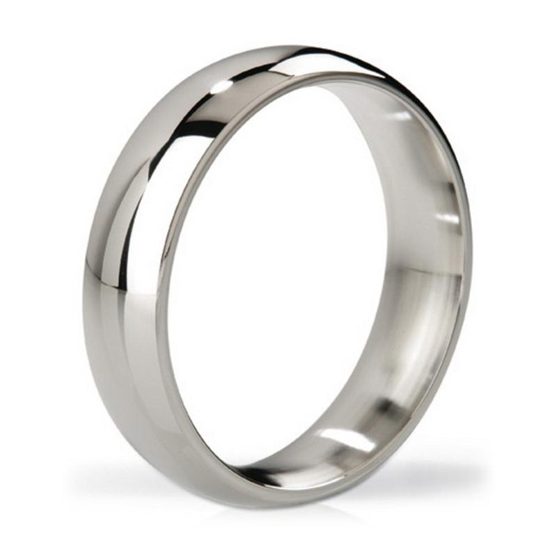 Earl Polished Steel Love Ring Mystim