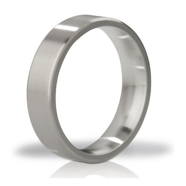 Duke Brushed Steel Love Ring Mystim