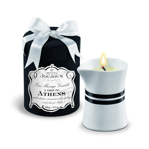 Massage Candle Athens Petits Joujoux