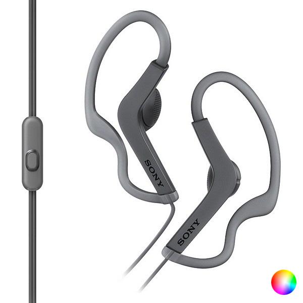 Auriculares Deportivos con Micrófono Sony MDRAS210AP
