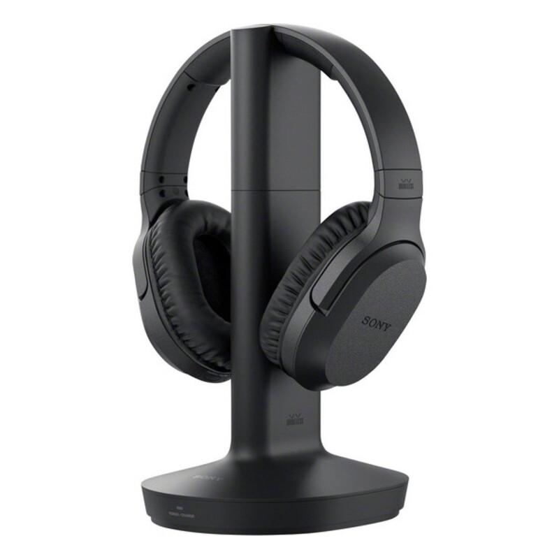 Slúchadlá s Bluetooth Sony MDRRF895RK 100 mW Čierna