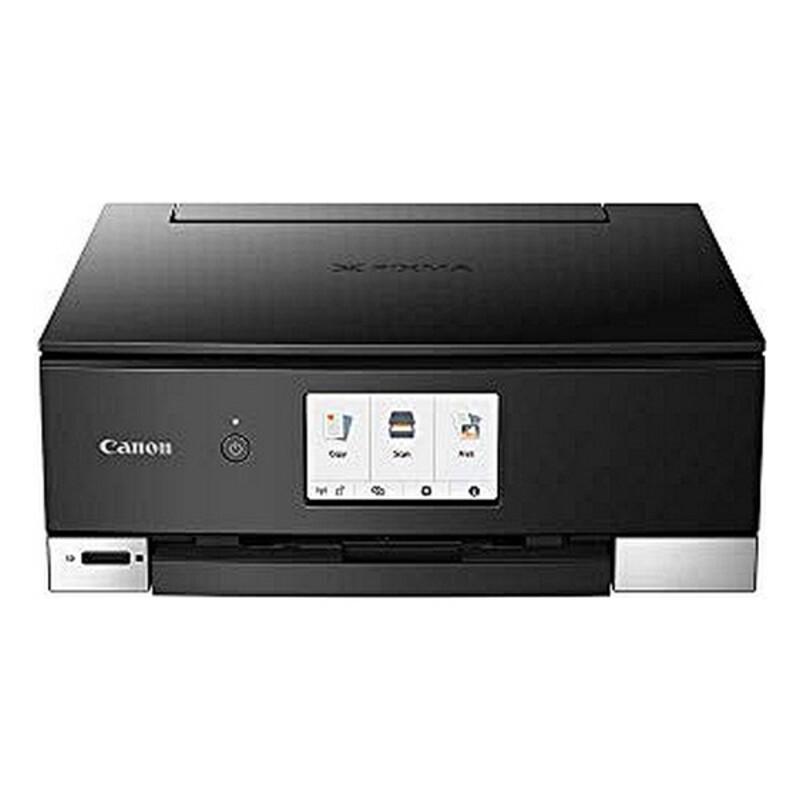 Impresora Multifunción Canon Pixma TS8350 15 ipm 1200 dpi WiFi Negro